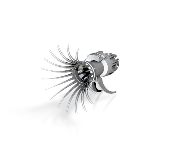 Metal Squid2 3d printed