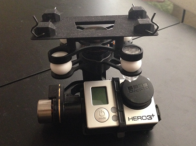 GoPro Quick Release Mount in Black Strong & Flexible