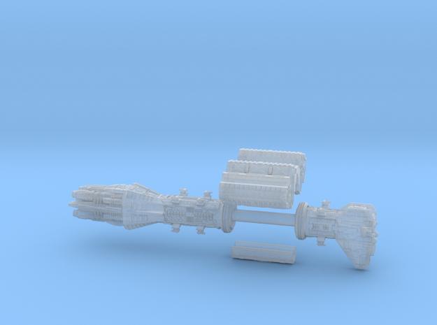 Omega_destroyer 12cm in Smooth Fine Detail Plastic