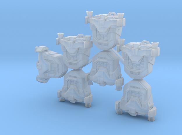 Generic Jetpacks (x7) in Smoothest Fine Detail Plastic
