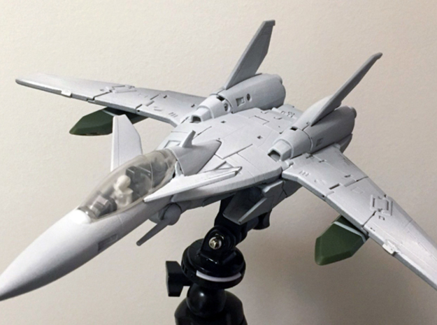 VF-9 NOSE and HEAD in White Natural Versatile Plastic: 1:60