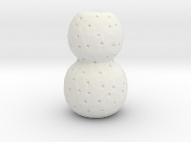 Ultima Thule scale models in White Natural Versatile Plastic: Small