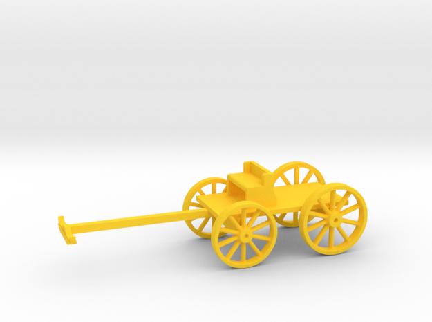 BuckBoard in Yellow Processed Versatile Plastic: 1:64 - S