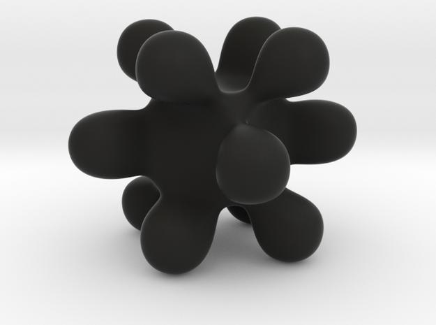 Abstract in Black Premium Versatile Plastic