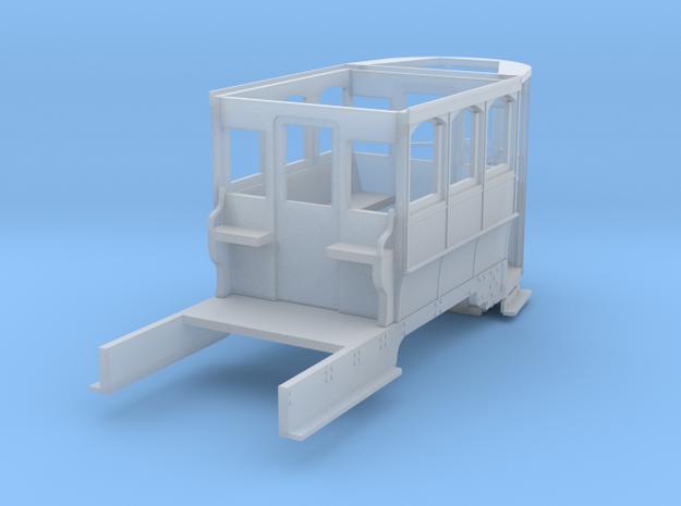Wellington Tram Orig. cond. front half motorisable in Smooth Fine Detail Plastic