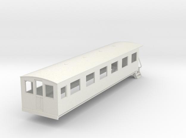 o-76-bermuda-railway-pullman-coach in White Natural Versatile Plastic
