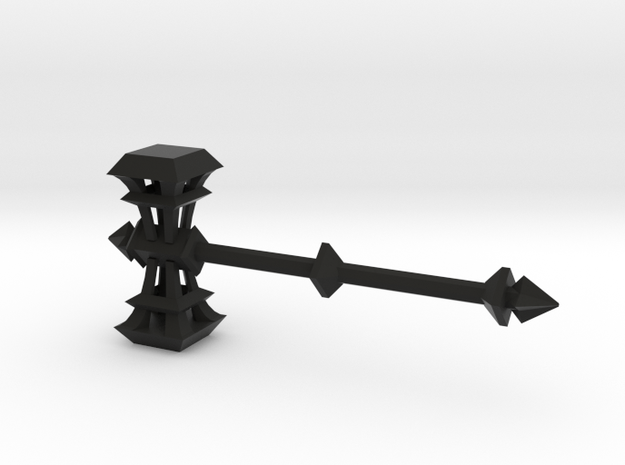 Dwarven Song hammer for ModiBot in Black Natural Versatile Plastic
