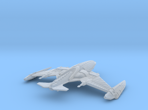 QehPu Klingon Attack cruiser in Smooth Fine Detail Plastic