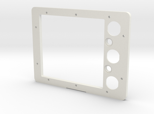 Pelican 1300 Battery Panel (AGC/MDL Fuse) in White Natural Versatile Plastic