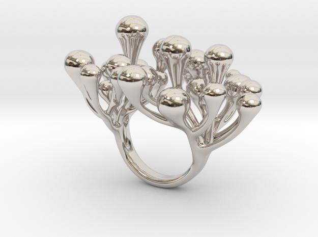 Bosriossy - Bjou Designs in Rhodium Plated Brass