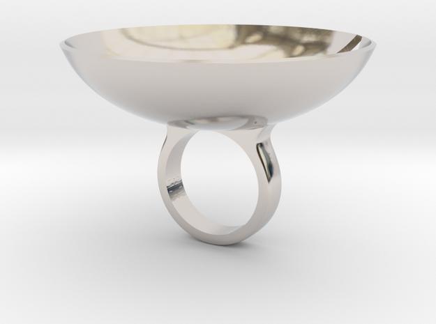 Amplove - Bjou Designs in Rhodium Plated Brass