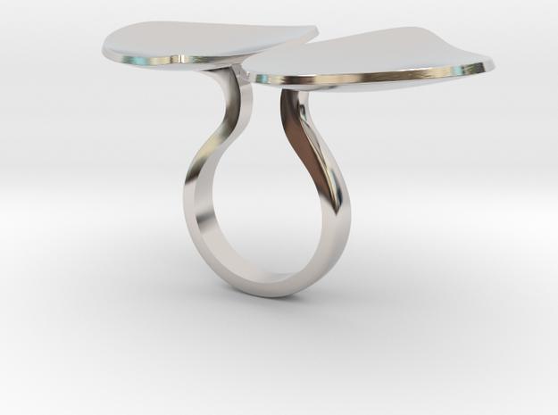 Doublete - Bjou Designs in Rhodium Plated Brass