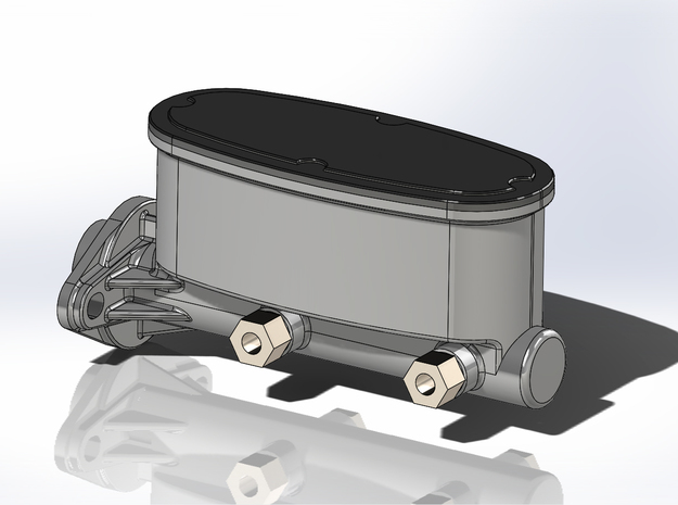 1/16 Scale Wilwood Master Cylinder in Smoothest Fine Detail Plastic