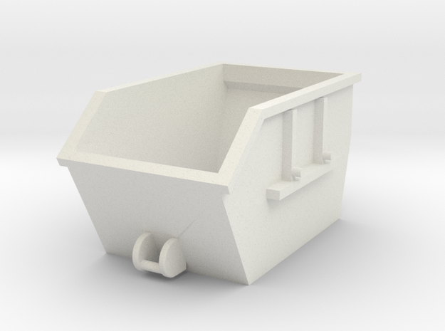 Absetzcontainer Absetzmulde 1:160 Spur N in White Natural Versatile Plastic