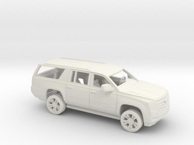 1/64 2015-18 Cadillac Escalade XL Kit in White Natural Versatile Plastic