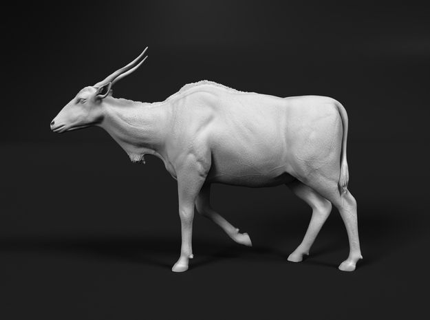 Common Eland 1:32 Walking Female in White Natural Versatile Plastic