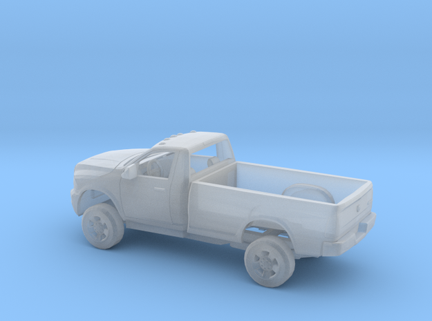 1/160 2009-18 Dodge Ram Regular Cab Long Bed Kit in Smooth Fine Detail Plastic