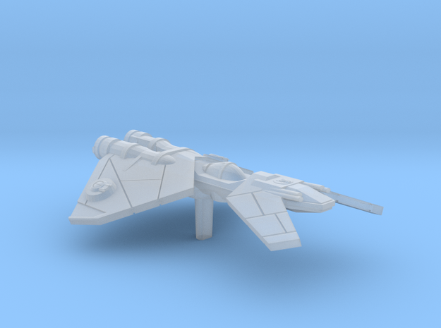 Imperial Customs Frigate in Smooth Fine Detail Plastic
