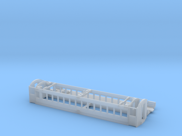 CNR C-2 Coach Body Shell (HO Scale) in Smooth Fine Detail Plastic
