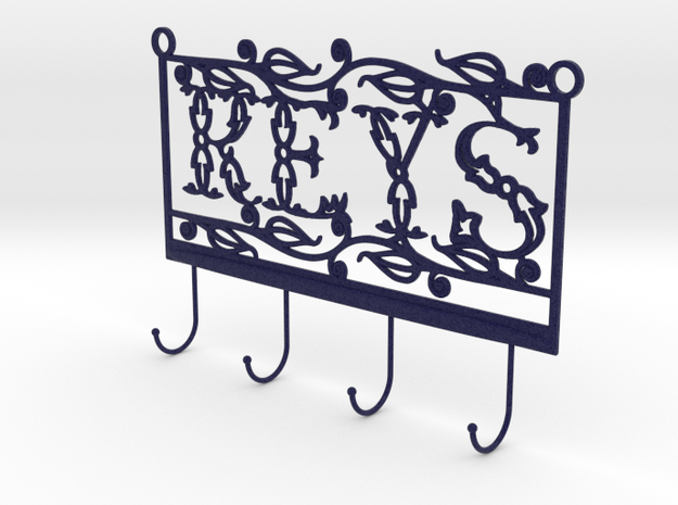 Keys Hanger in Natural Full Color Sandstone