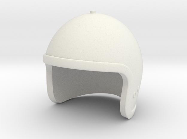 Jet Pack Helmet - 1/6 scale in White Natural Versatile Plastic