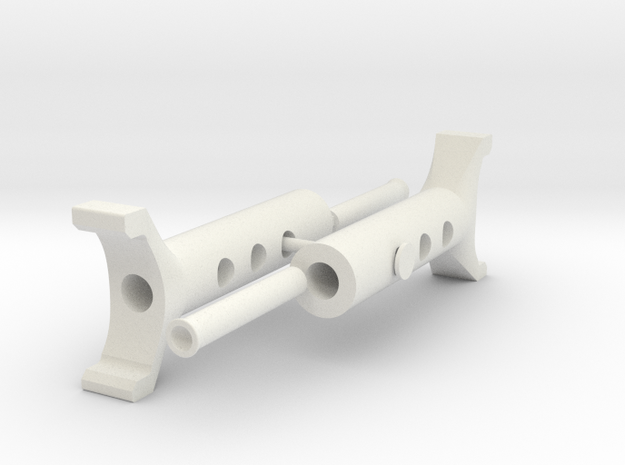 1Tenth Scale Jack Stand Parts 2 of 2 in White Natural Versatile Plastic