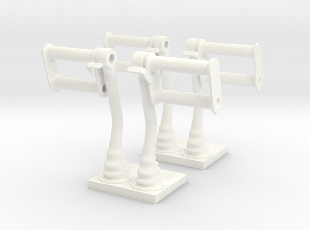 1.10 LAMA PALONNIERS in White Processed Versatile Plastic