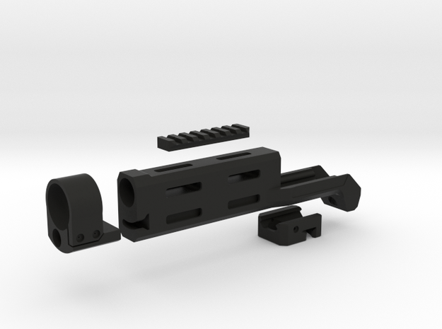 MK 23 SOCOM Tokyo Marui M-LOK handguard 3D print m in Black Natural Versatile Plastic