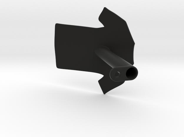 Short Sleeve T-Shirt Wardrobe Display Identifier in Black Natural Versatile Plastic