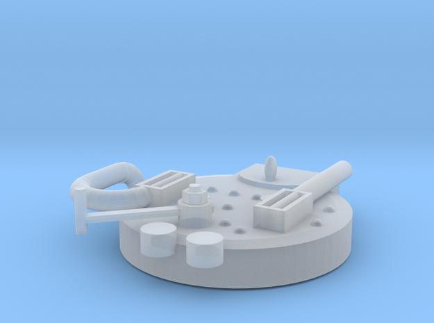Boiler Backend in Smoothest Fine Detail Plastic