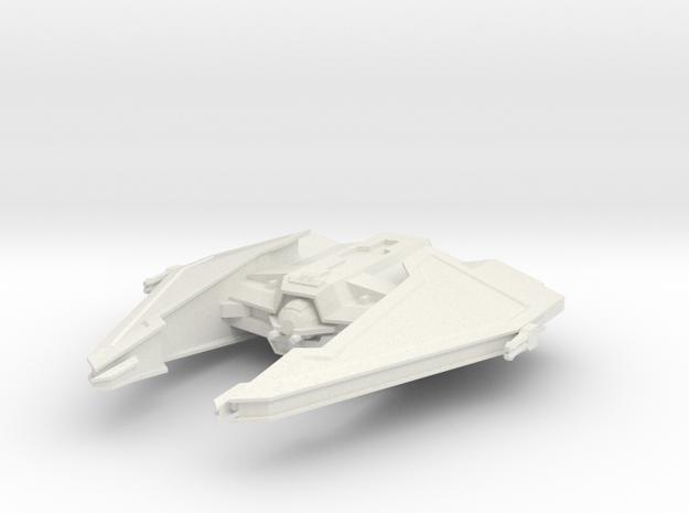 Sith Fury-class Imperial Interceptor  in White Natural Versatile Plastic