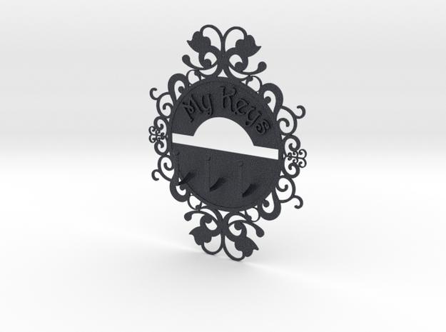 Keys Hanger in Black PA12