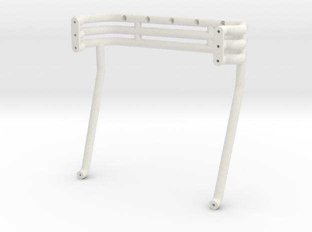 Excaliber Rollbar in White Natural Versatile Plastic