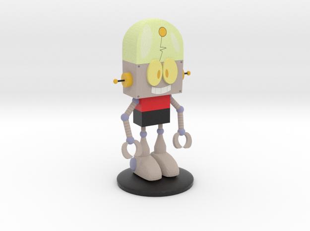Robot Jones in Matte Full Color Sandstone