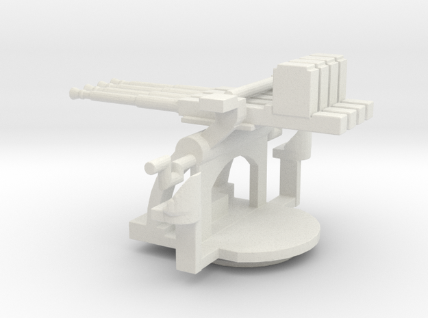 1/96 Scale 1.1 inch Mount Mk2 in White Natural Versatile Plastic