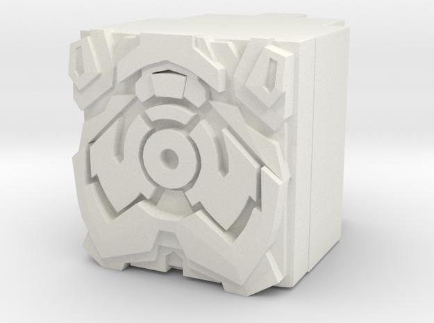 Micronus Prime Power Core in White Natural Versatile Plastic