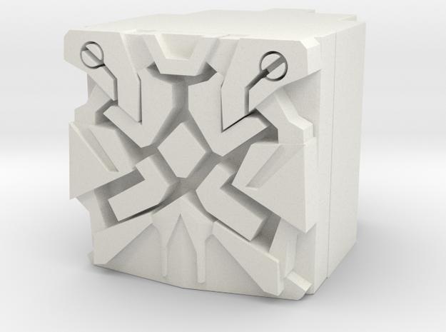 Nexus Prime Power Core in White Natural Versatile Plastic