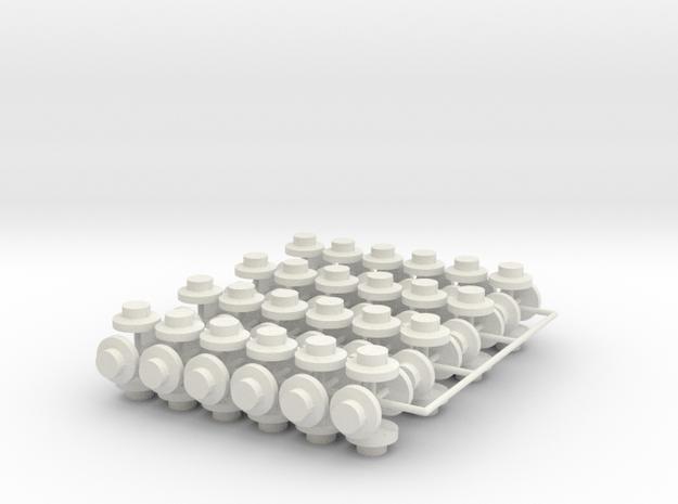 20883x96 3d in White Natural Versatile Plastic