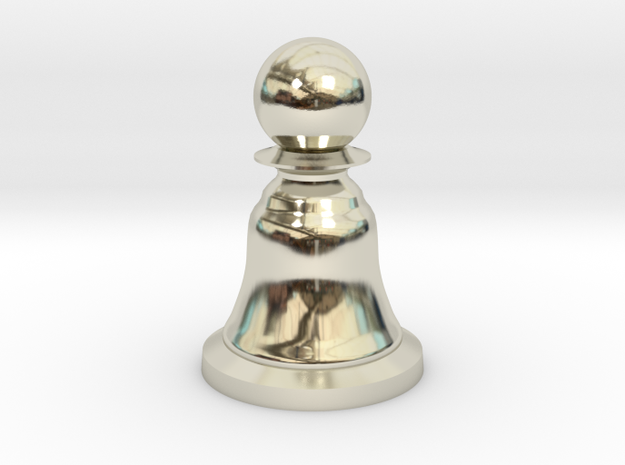 Pawn White - Bell Series in 14k White Gold