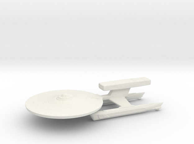 USS Pratchett  in White Natural Versatile Plastic