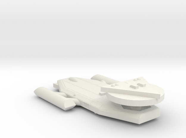 3125 Scale Worb Light Destroyer MGL in White Natural Versatile Plastic