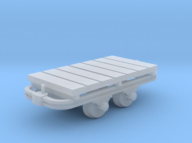 Flachwagenlore - TTf 1:120 in Smooth Fine Detail Plastic