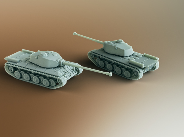 FCM 50T French Heavy Tank Scale: 1:285