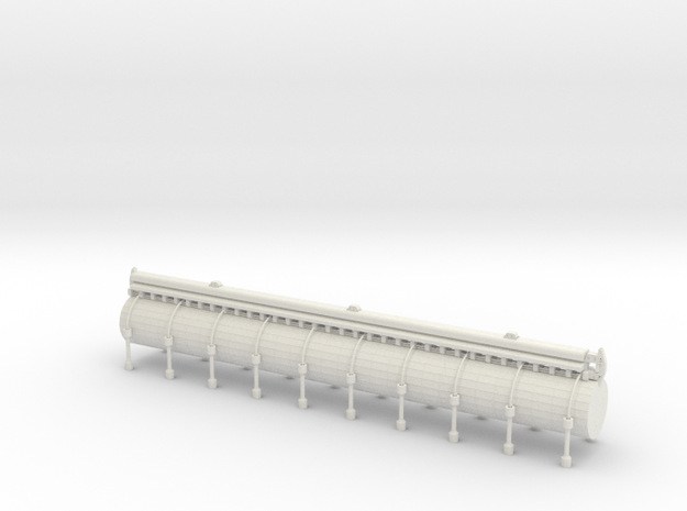 Pipeline Element Industrie Diorama in White Natural Versatile Plastic