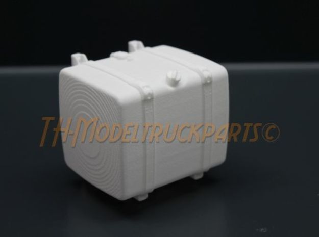 THM 00.4102-066 Fuel tank Tamiya Scania in White Processed Versatile Plastic