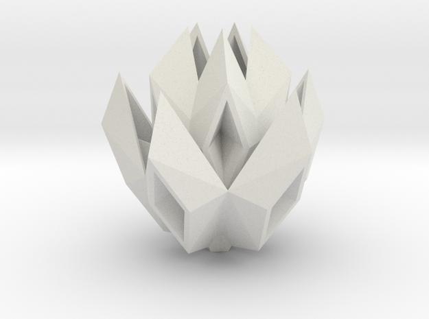 paper boat rose in White Natural Versatile Plastic: Small