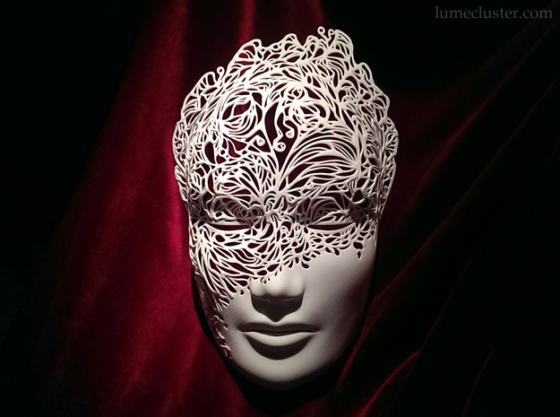 Dreamer Mask: Breakthrough (SMALL) 3d printed