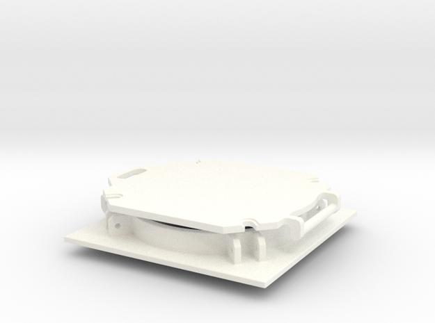 THM 20.0096 Bulk hatch open in White Processed Versatile Plastic