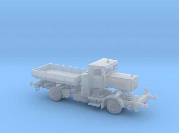 LKW VOMAG Holzvergaser Schienen Truck 1:220 in Smooth Fine Detail Plastic