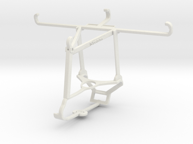 Controller mount for Steam & vivo Y89 - Top in White Natural Versatile Plastic